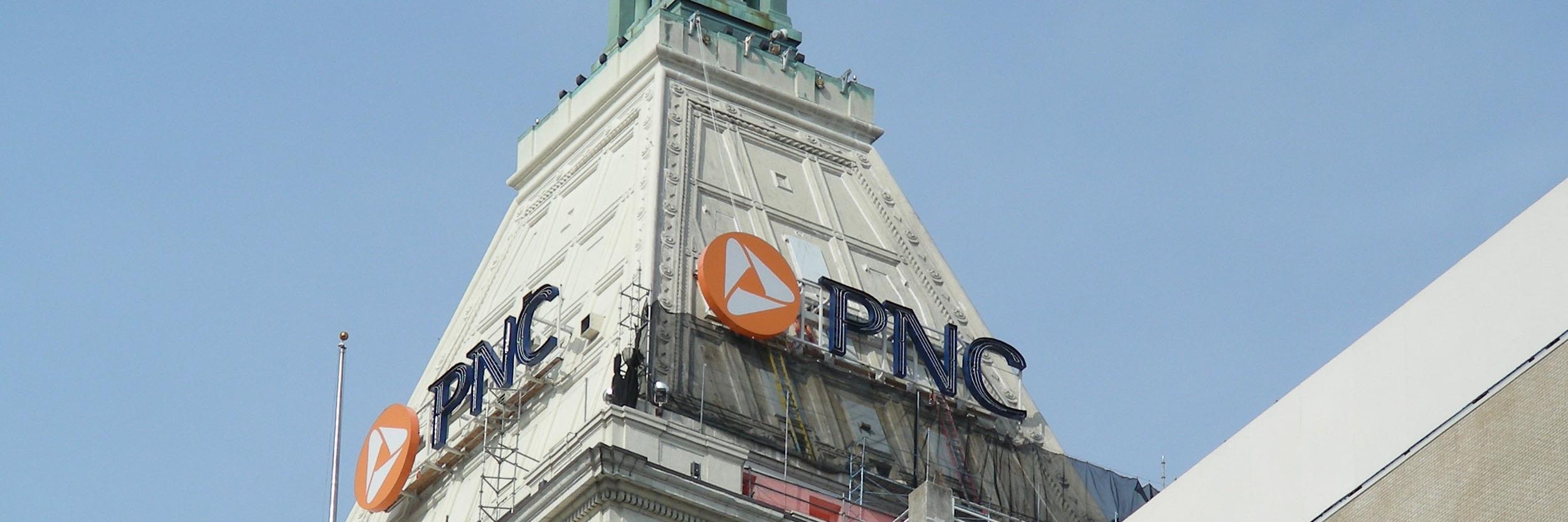 PNC Tower Slope Coating