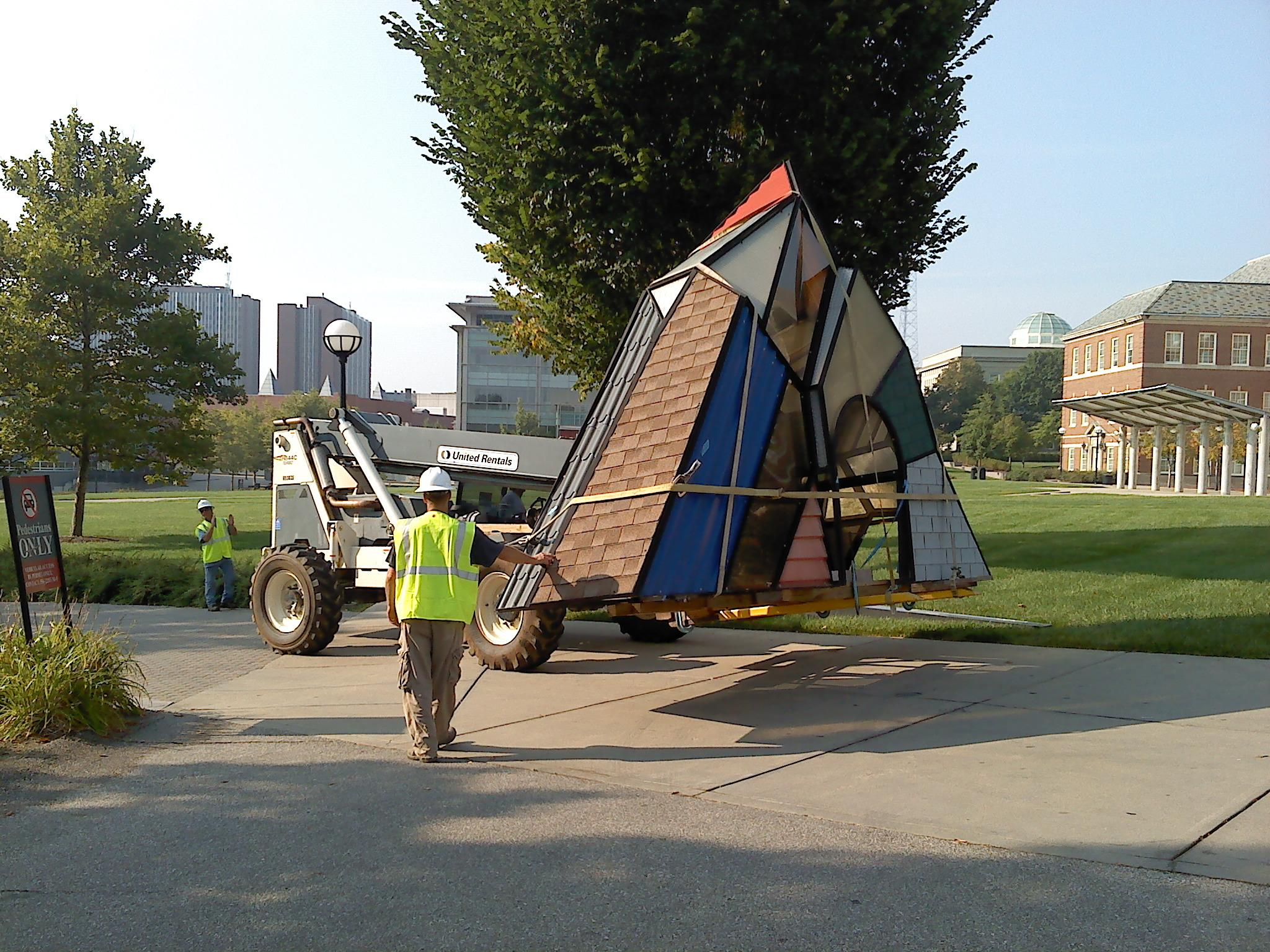 Sculpture Relocation