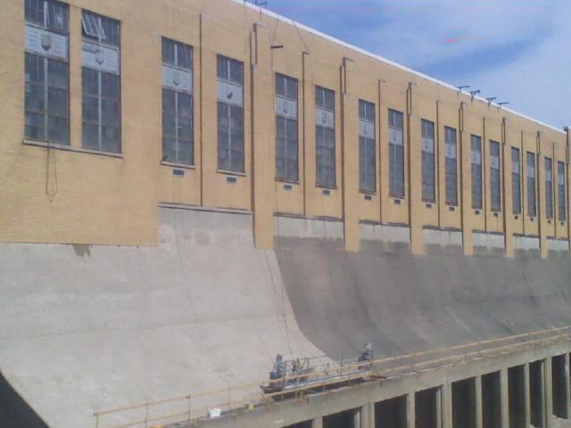 Mill Creek Pump Station Masonry Restoration and Concrete Cleaning