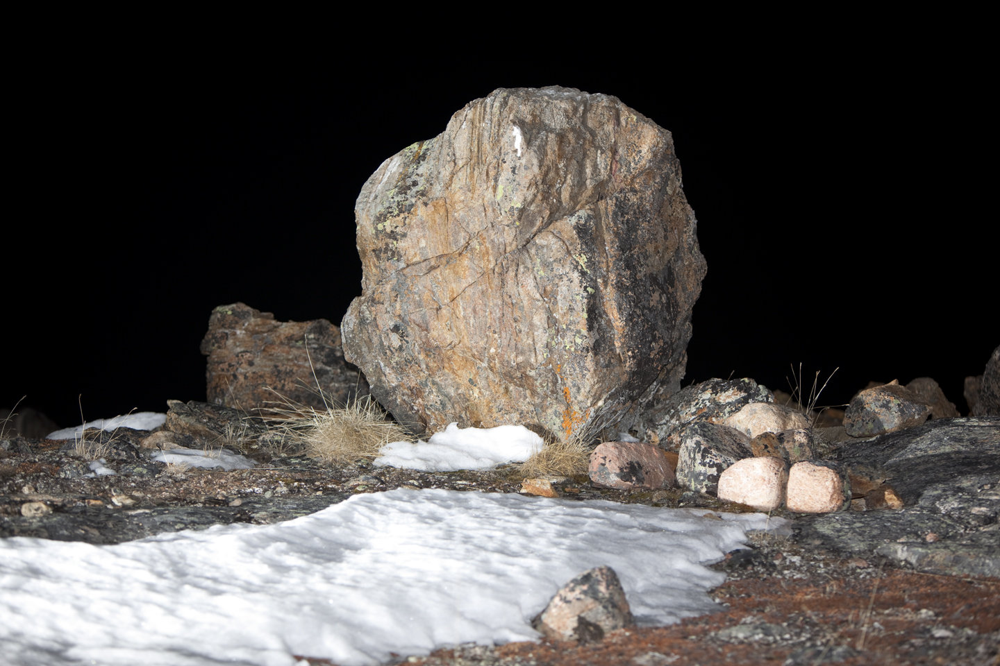 Boulder #3, 2012, digital c-print mounted on dibond. 60x90 inches, edition of 5
