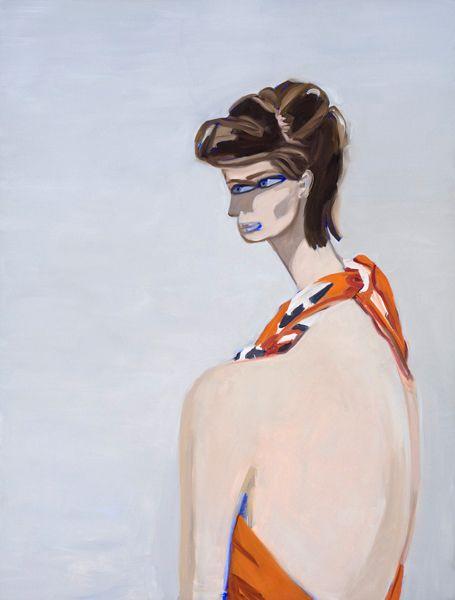 Janet Werner, Genie , 2011, oil on canvas