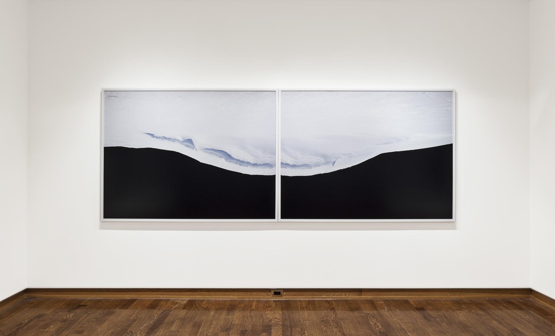 After Kurelek, (Diptych) 2013, 2 Digital Chromogenic Prints. Overall dimensions 50 x 134 inches. Photo credit: Toni Hafkenscheid.