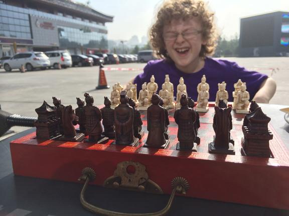 Sam's new Chess set