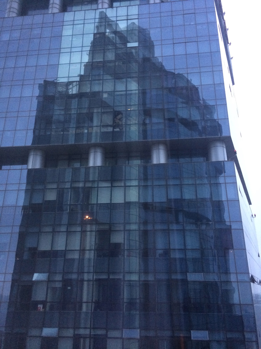 When Buildings Take Pictures of Themselves