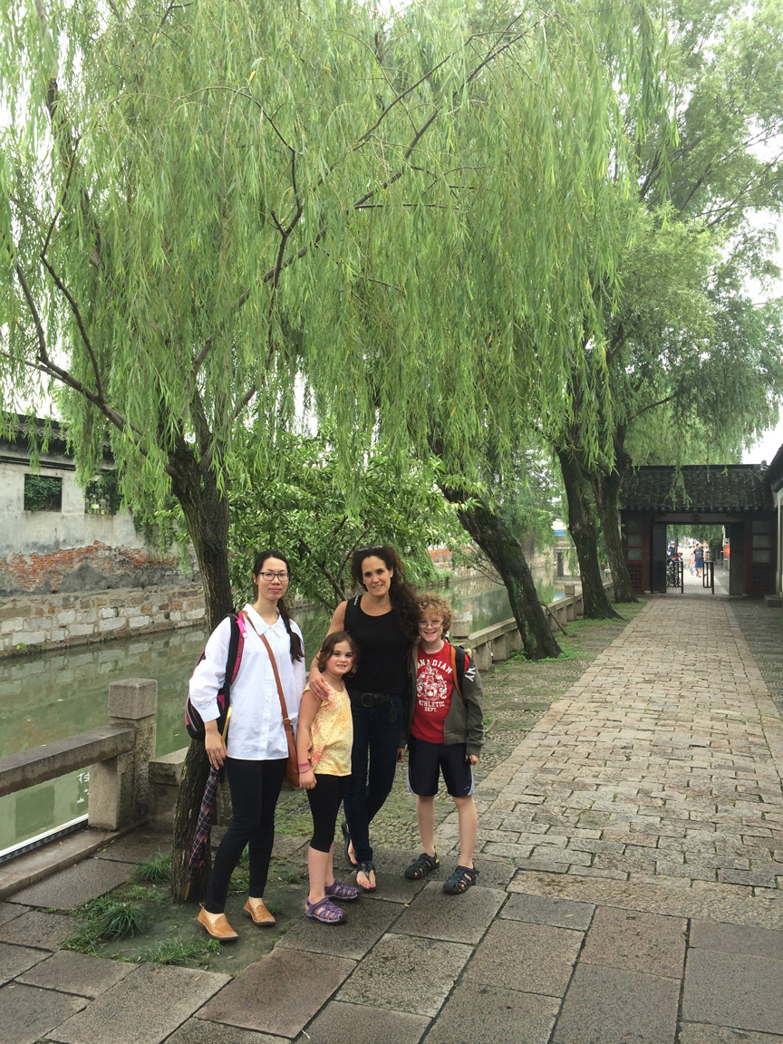 Our lovely guide in Suzhou: Phenix