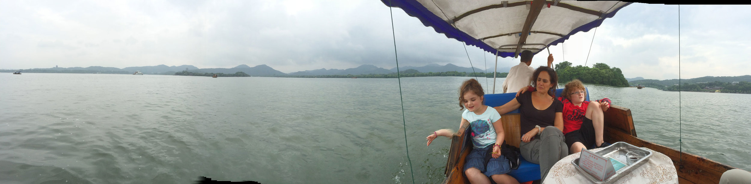 On a slow boat in China...