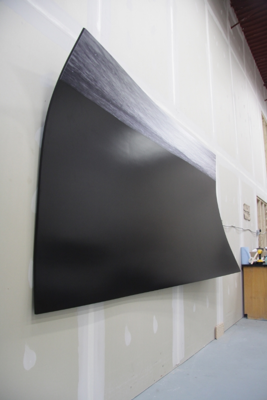 This is one of 4 panels.  http://www.preternatural.ca  vernissage is December 8th, 2011