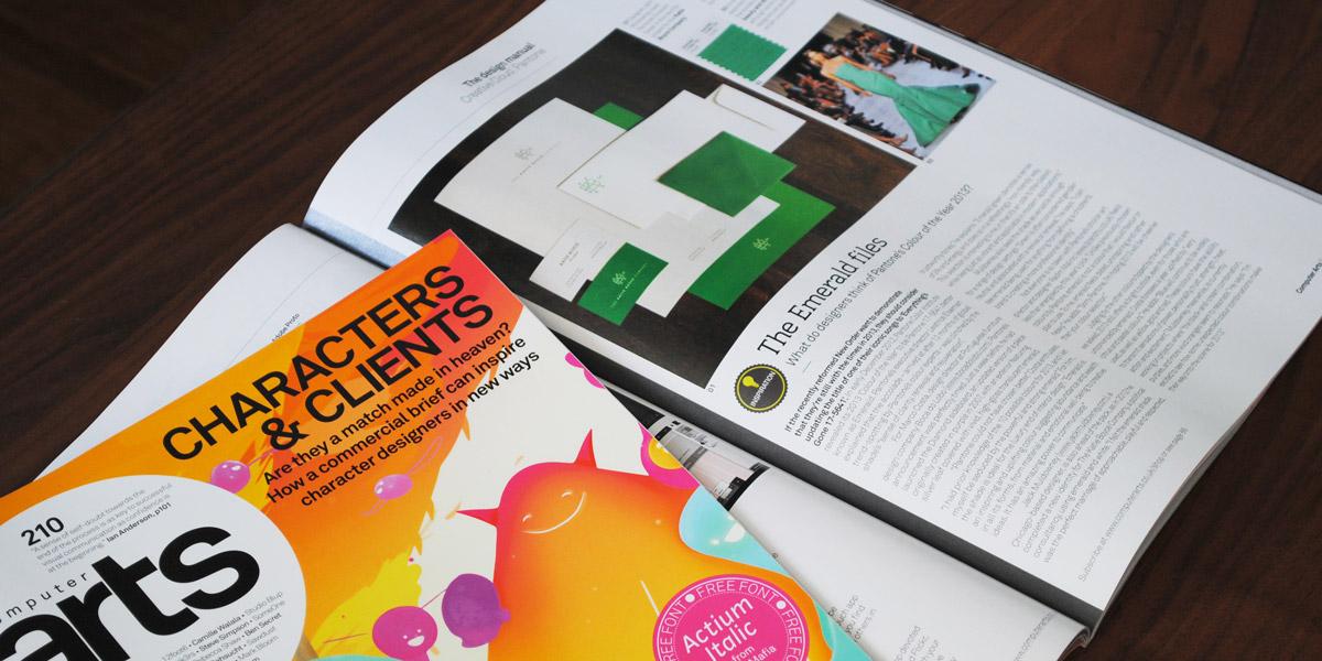 Issue No. 210, Computer Arts Magazine