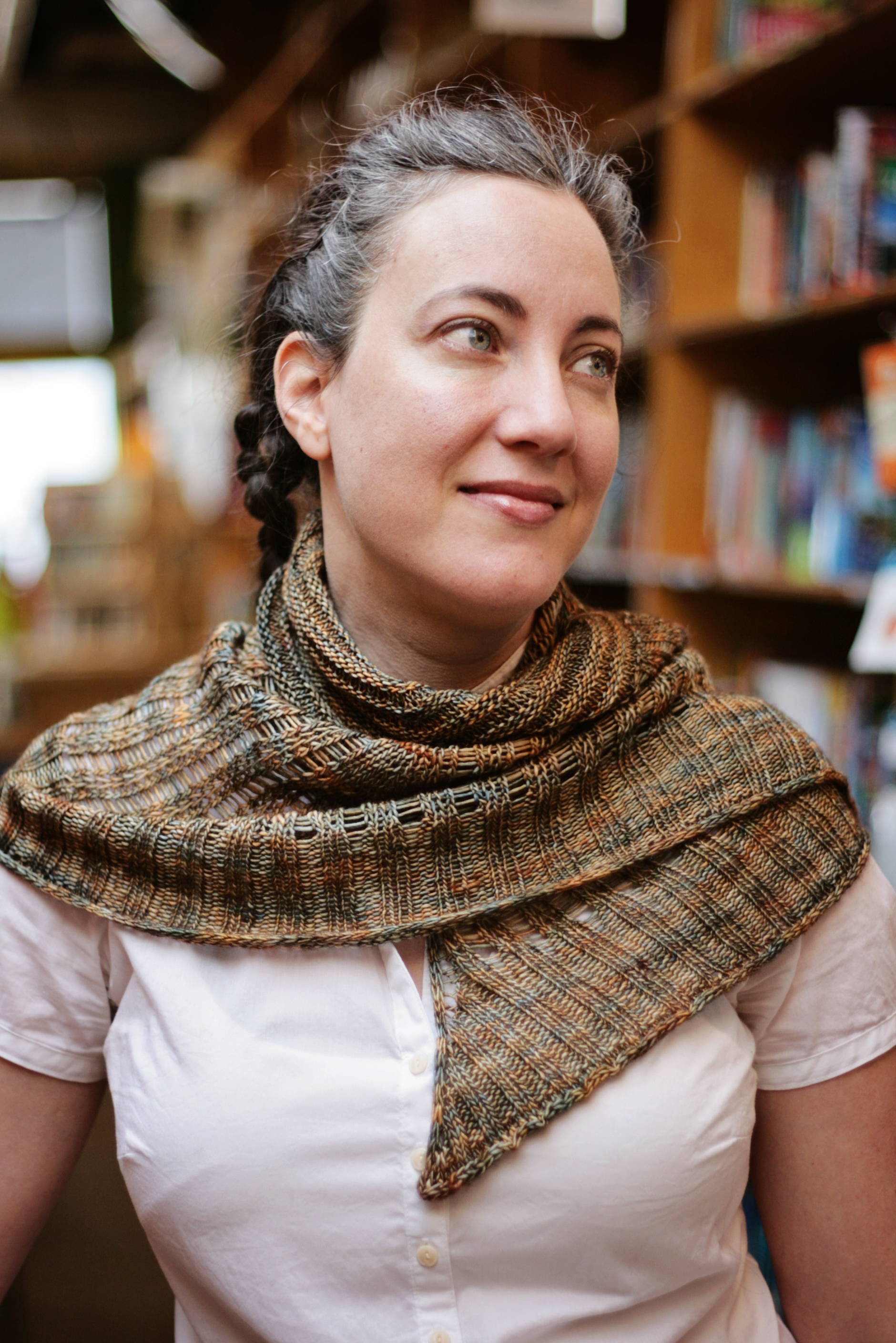 Powell's City of Books Shawl