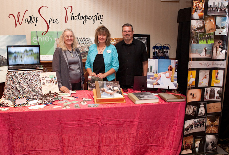 Wally, Julie and Ed at one of our Bridal shows in 2011