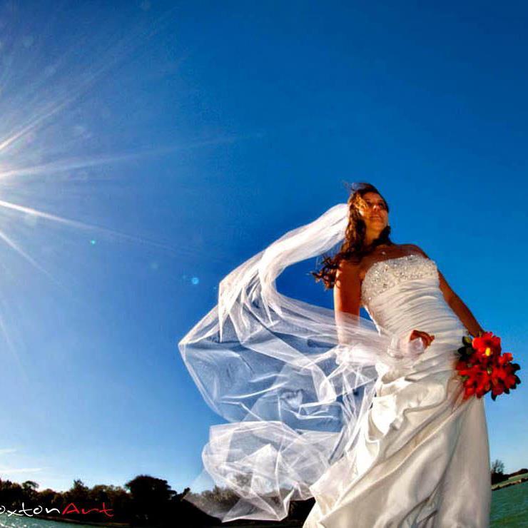 Julie Proudfoot - Florida bride Braxton Art - Travis Broaxton of Denver Colorado