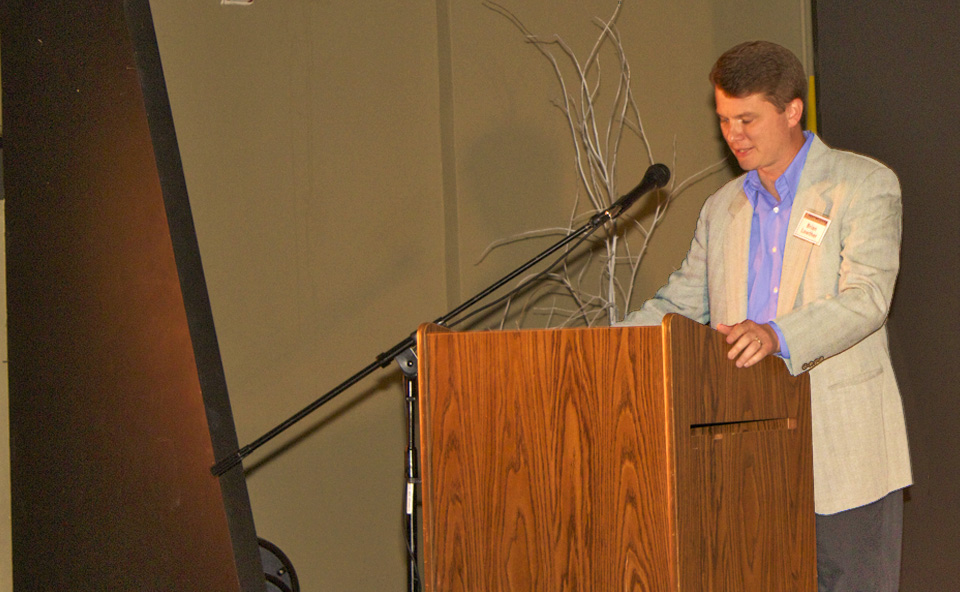 Coordinator and Emcee Brian Lowther