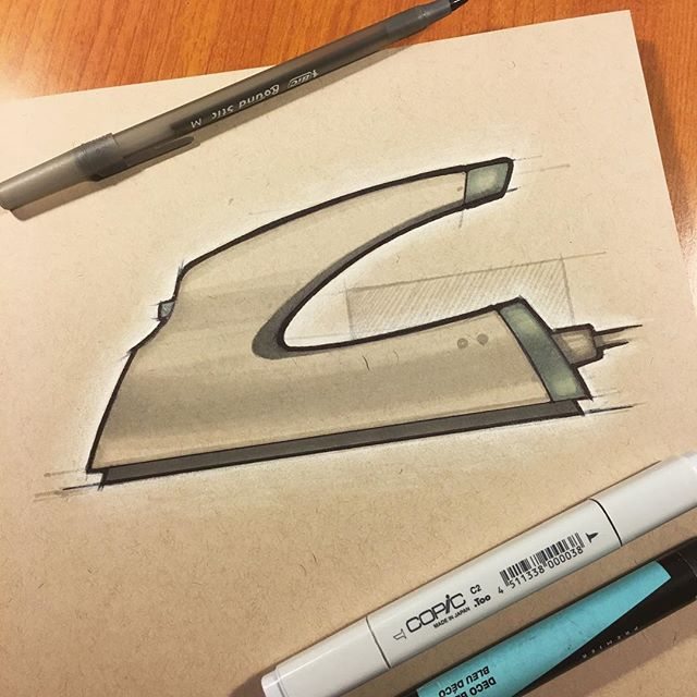 087 // 100 This weeks #weeklydesignchallenge #irons #industrialdesign #sketch #idsketching #sketchaday #productdesign #sketchbook #ideation #productdesignsketch #designer #onesketchaday #design #id #sketchdaily #idsketch #drawing