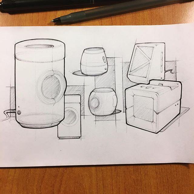 088 // 100 Portable Bluetooth Speakers #industrialdesign #sketch #idsketching #sketchaday #productdesign #sketchbook #ideation #productdesignsketch #designer #onesketchaday #design #id #sketchdaily #idsketch #drawing