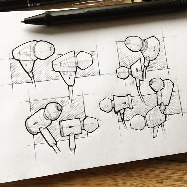 092 // 100 #industrialdesign #sketch #idsketching #sketchaday #productdesign #sketchbook #ideation #productdesignsketch #designer #onesketchaday #design #id #sketchdaily #idsketch #drawing #headphones #earbuds #concept