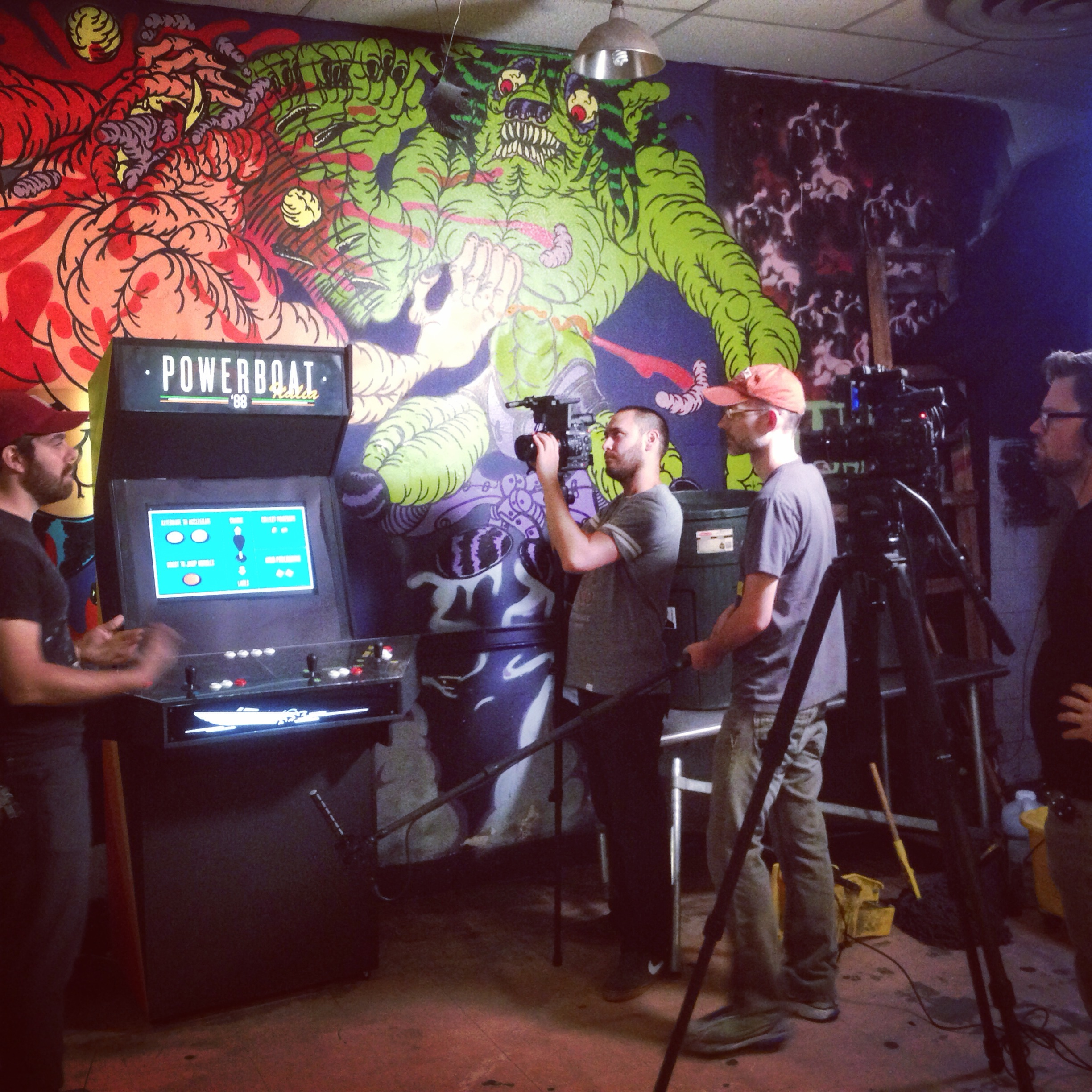 Death By Audio, an event space and art gallery that commissions one-of-a-kind games and arcade cabinets that then go on display elsewhere in New York City.