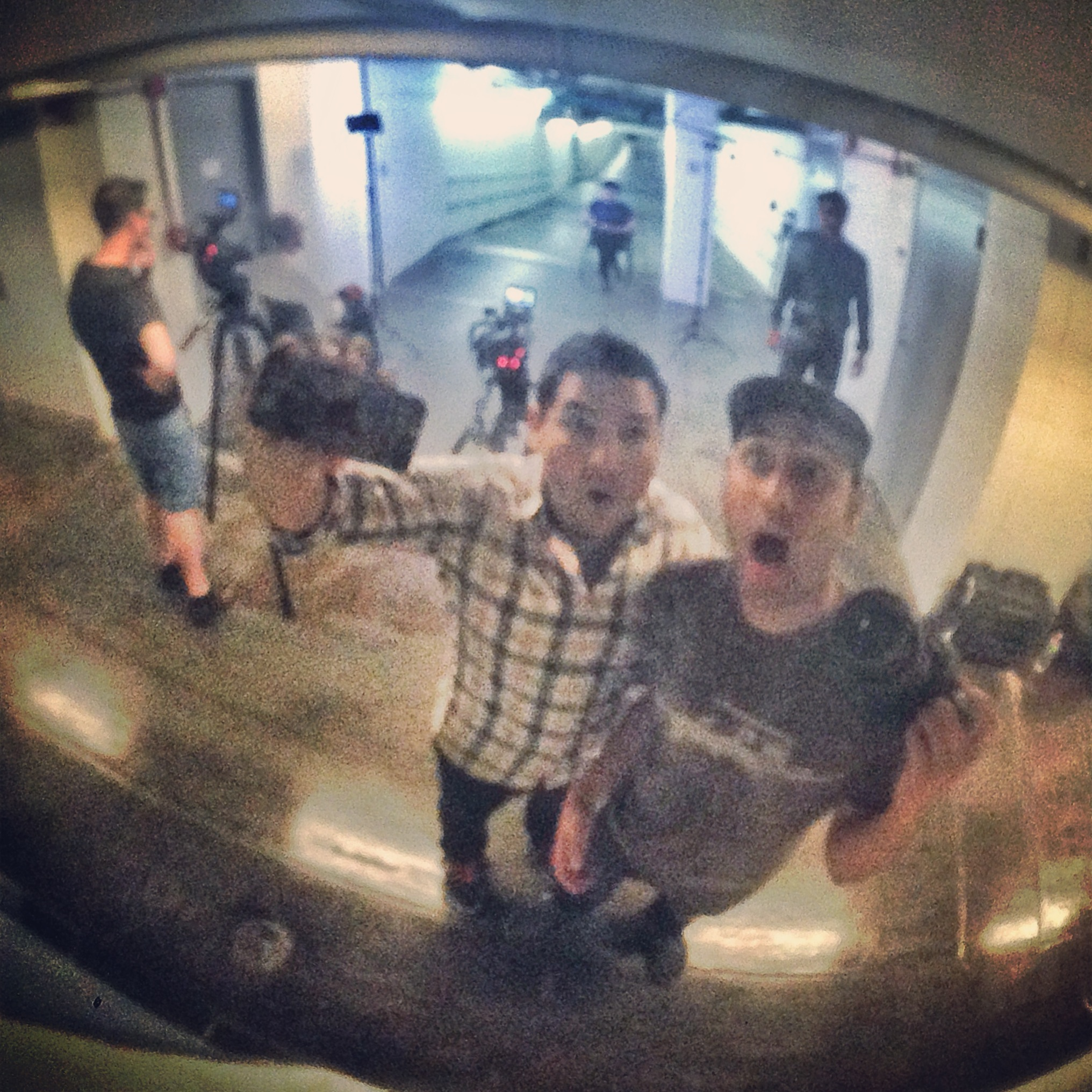 Jason and Cesar realize they're being watched in the tunnels beneath MIT.