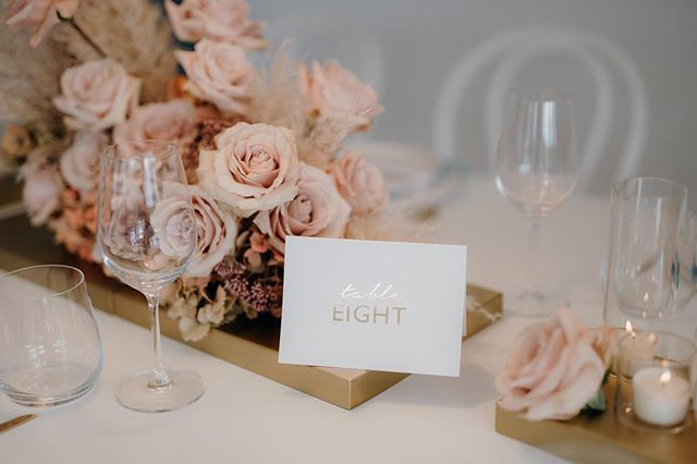 Table eight looking good! 👌🏻 Photo | @amanda_thomas_photography  Furniture | @darbyandgrey  Florals + Styling | @libertyeventstyling  #weddingdecor #weddingtabledecor #blush #gold #weddingflowers #eventstylist #nzweddings #eventstyling #nofloralfoam #libertyeventstyling #nothingisordinary