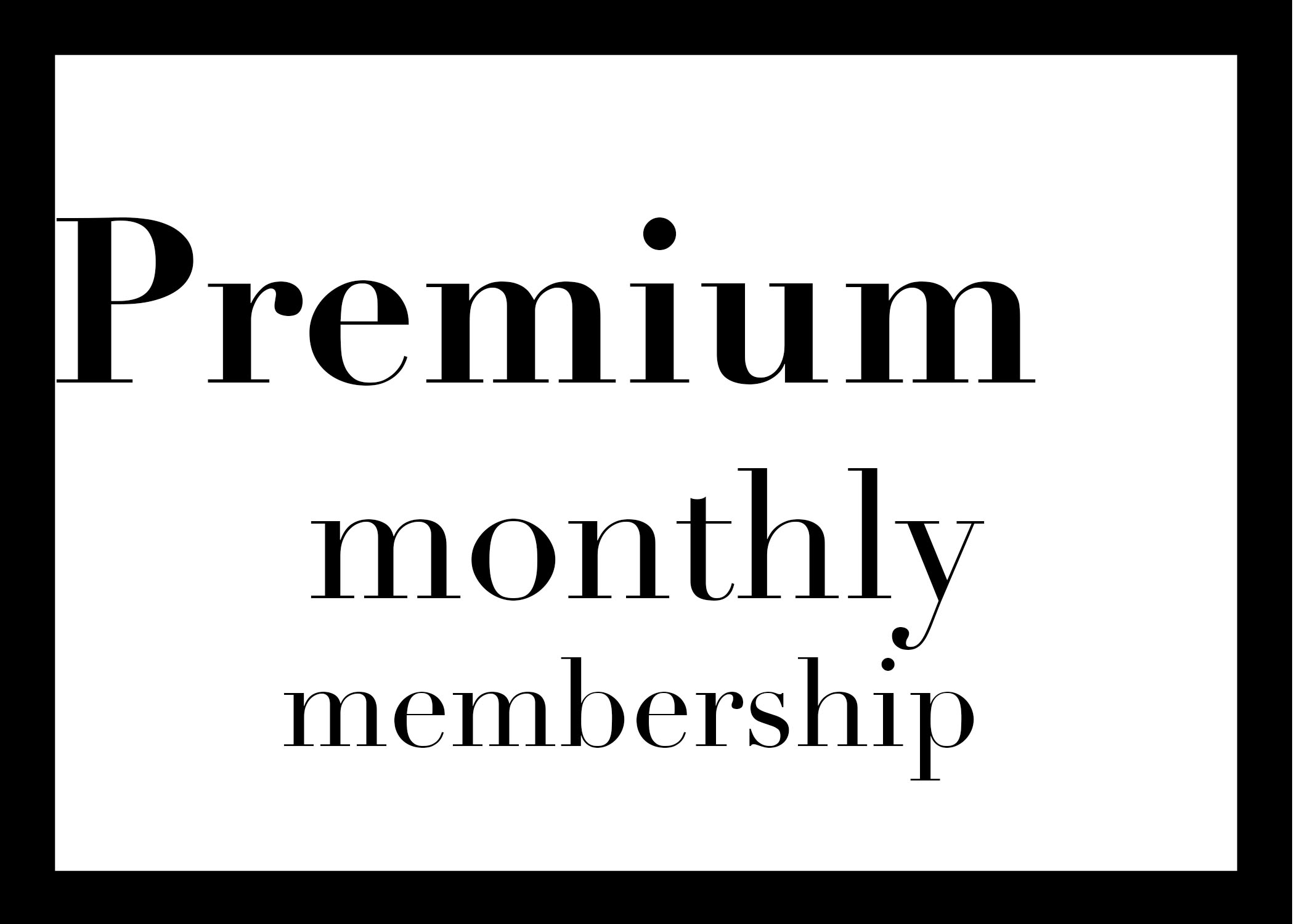 $10 OFFpremium monthly membership - Get $10 OFF the monthly unlimited rate with credit card autopay agreement. $139/month.