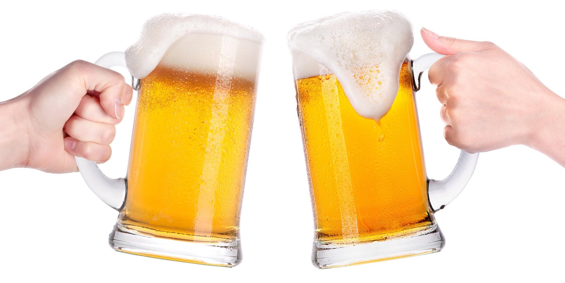 German beer on tap - $5 German beer pints. Helles, Dunkel, Hefeweizen.  While supplies last!