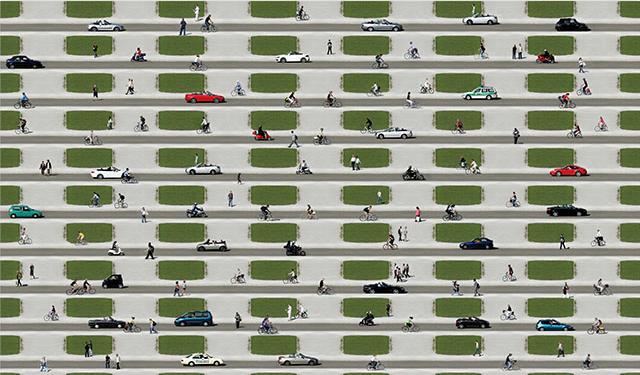 Summer City  by J. Scriba