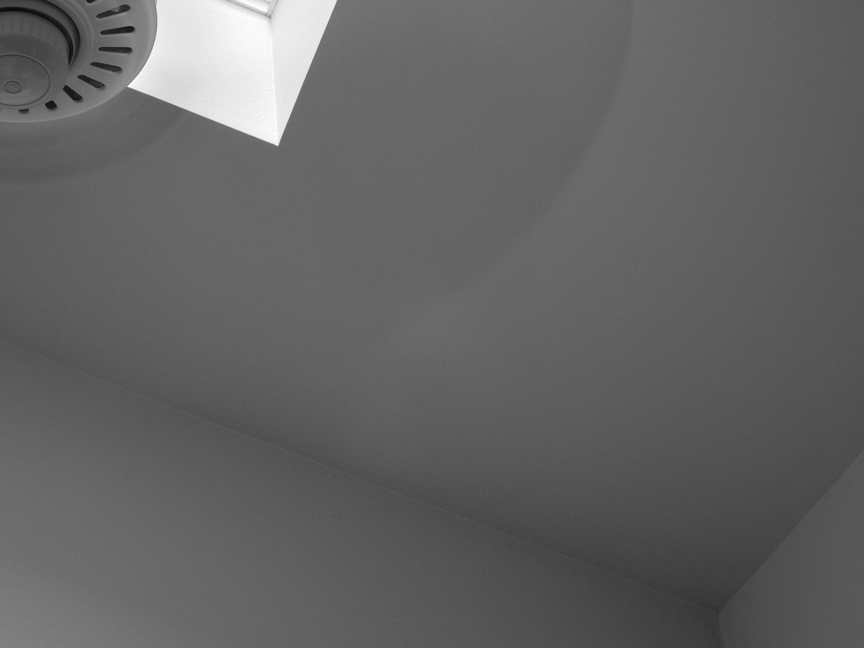 view of a fan