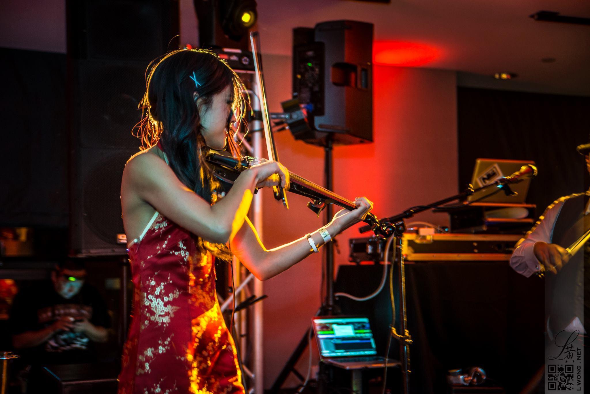 Violinist Jennifer Tzeng.