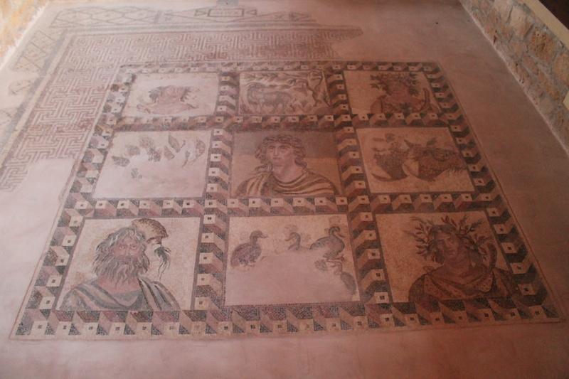 Ancient Roman Mosaic Floors