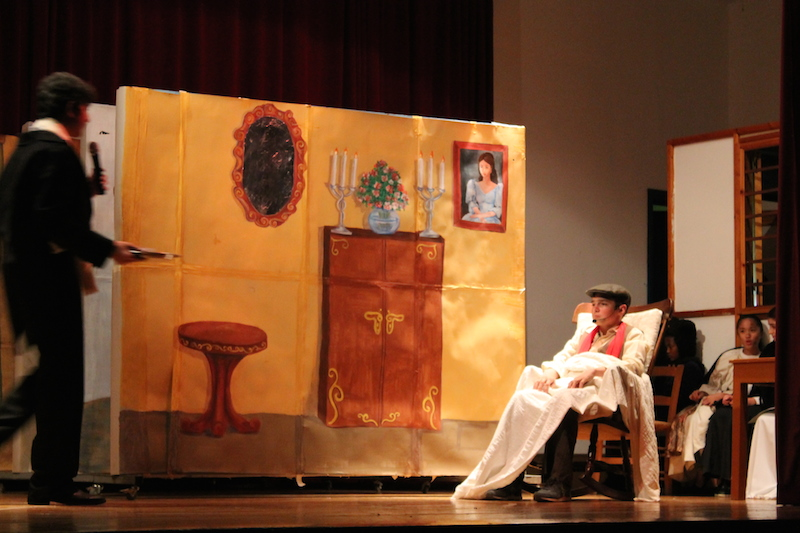 Cypriot students perform Oliver Twist