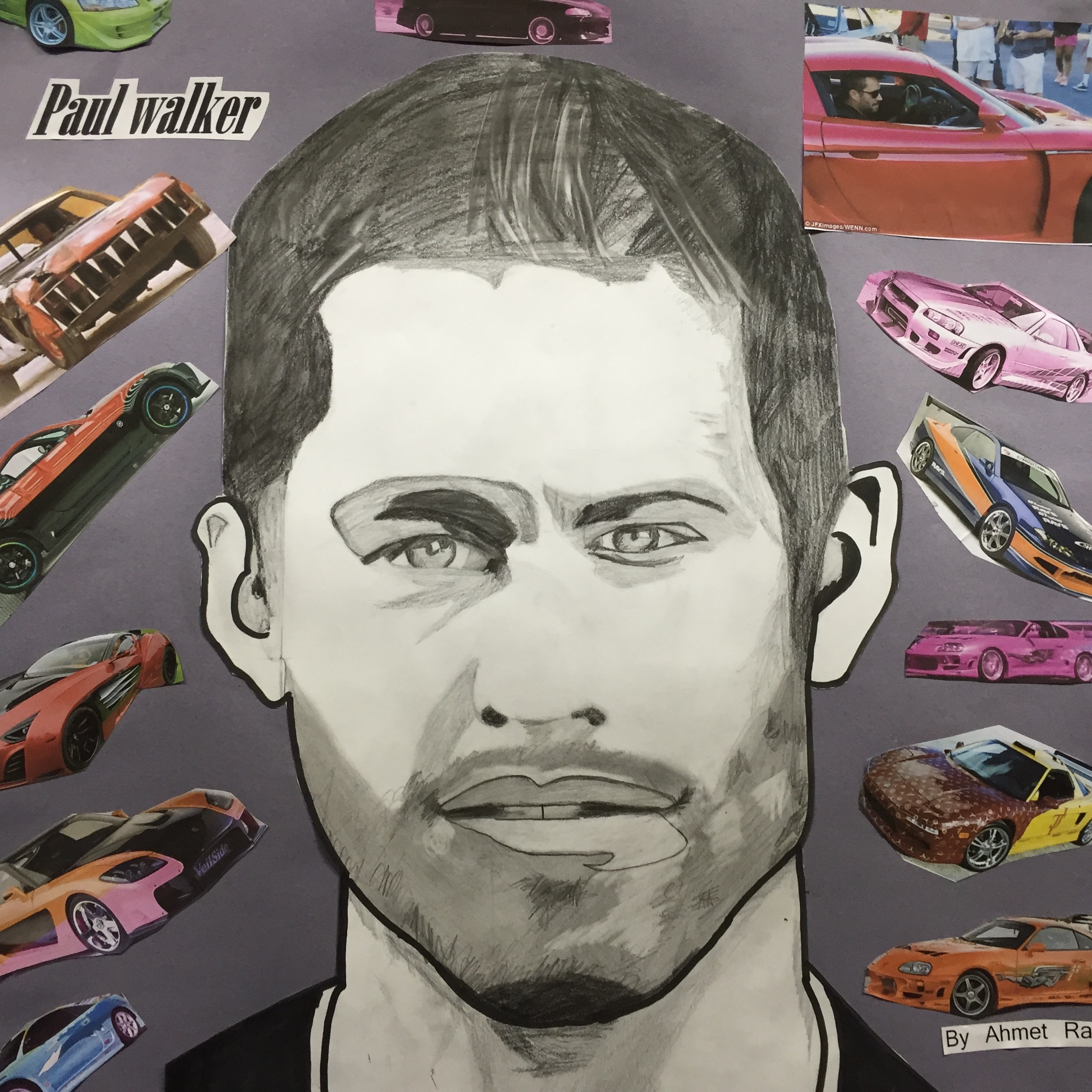 Paul Walker by Ahmet Ramic