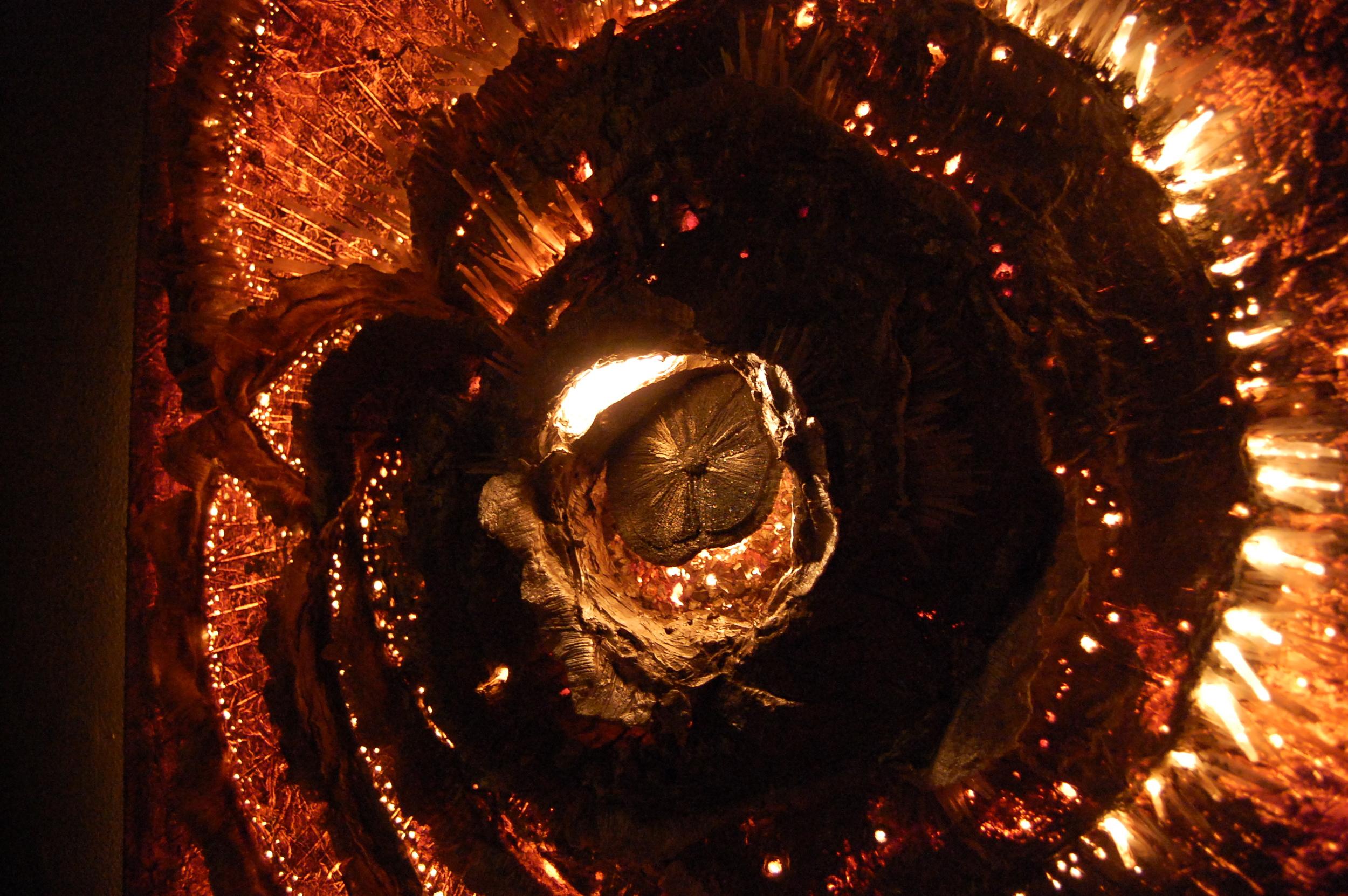 Mark of a Supernova (Detail) - Sarah Raskey Fine Art