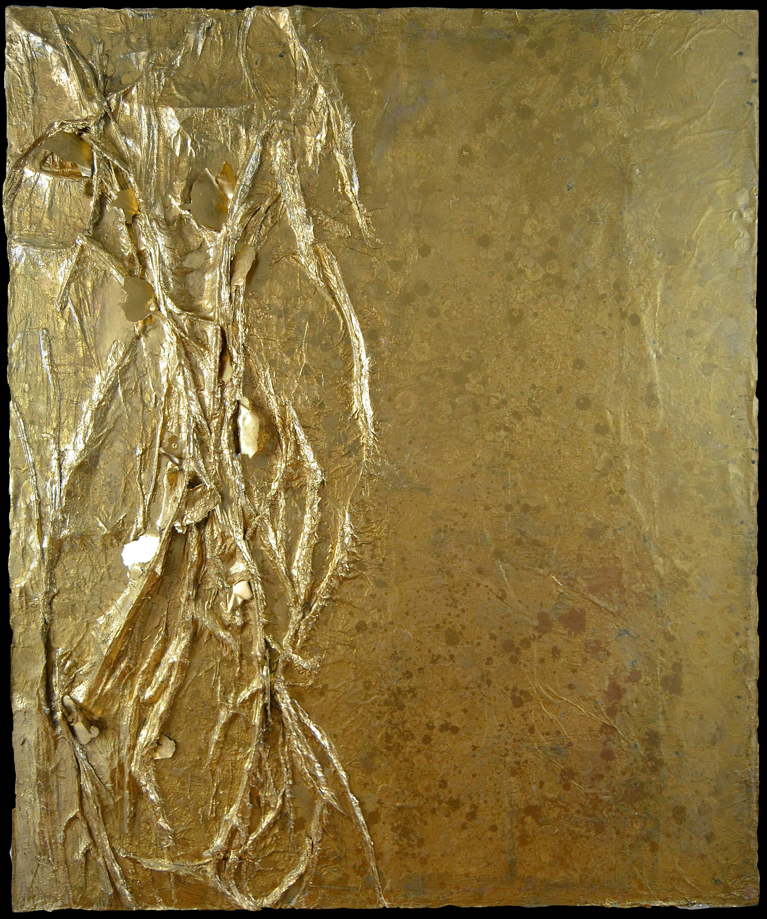 VEINS OF GOLD EMBEDDED - SARAH RASKEY FINE ART