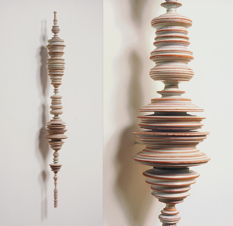 12_Tom Lauerman, Phrase (with detail), 2004, ceramic, 8x8x33.jpg