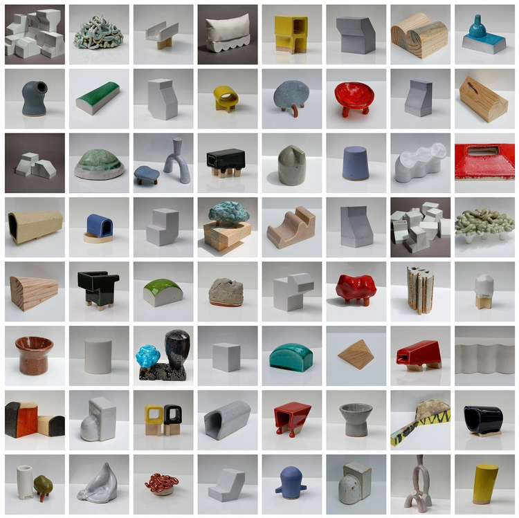 Sculptures in Love with Architecture, 2008-2013, Intimately-scaled collaborative works by Tom Lauerman & Fabio J. Fernández. (external link)