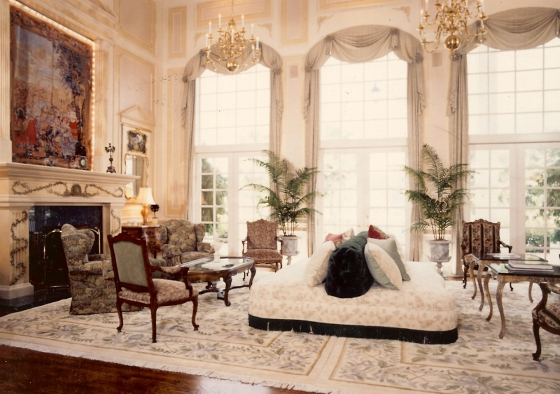 Living Room Fit For Royalty