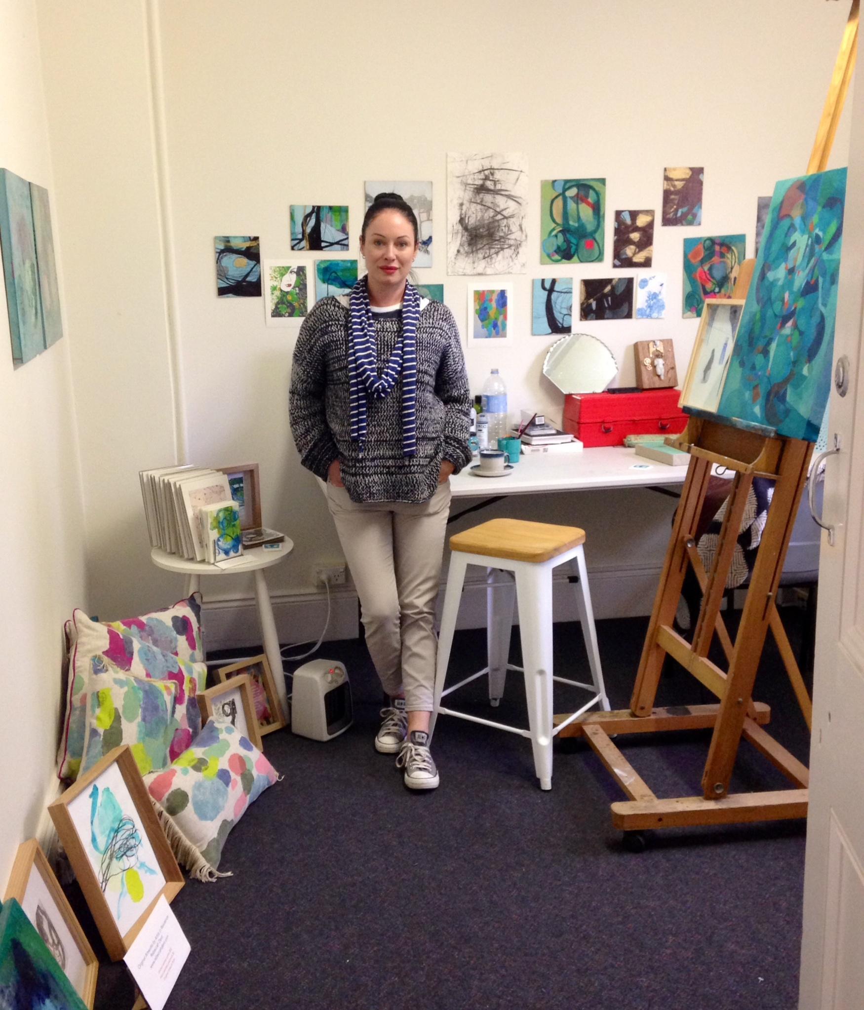 Rebeccah Dent Studio Open day 6th Sept 2014