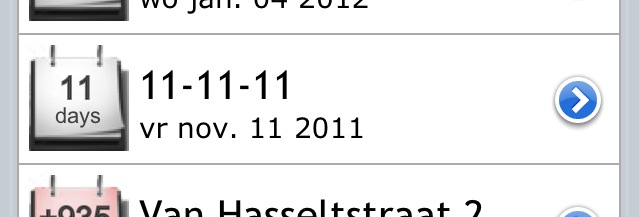 1-11-11 nog 11 dagen naar 11-11-11