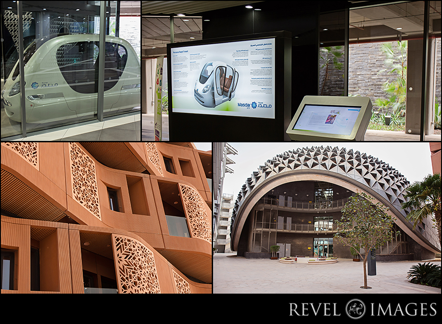 the very cool tech city - Masdar Institute
