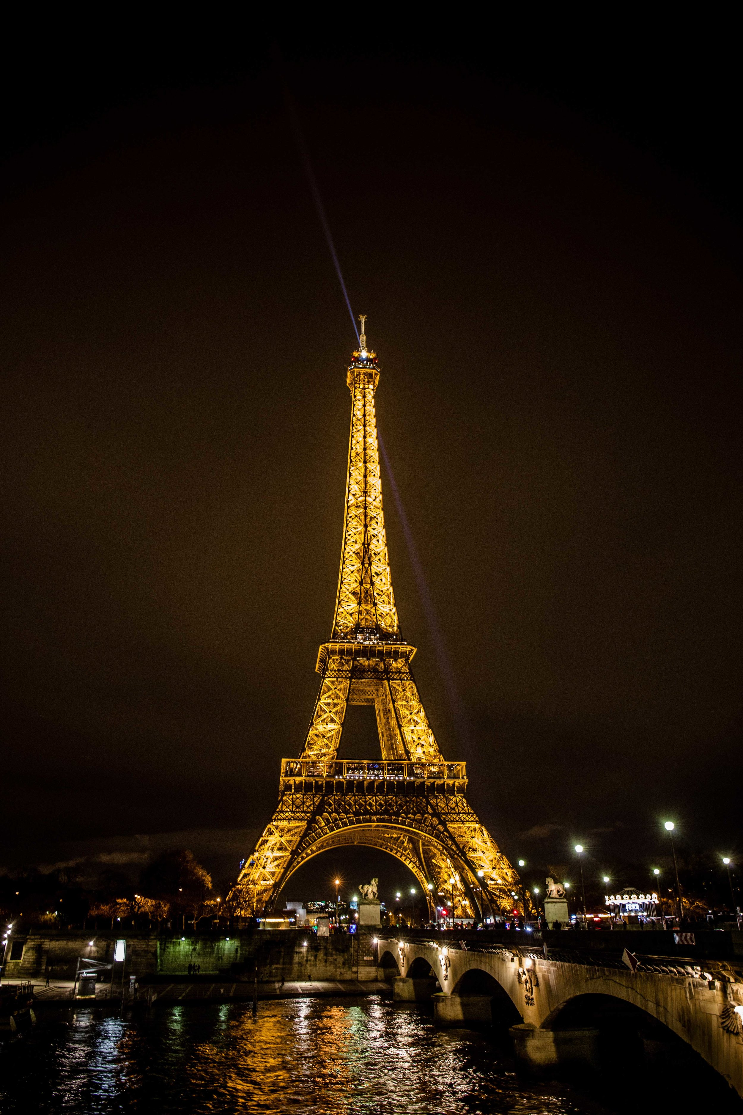 There is something magical about the Eiffel Tower at night.  We enjoyed wandering around after a relaxing dinner cruise along the Seine.
