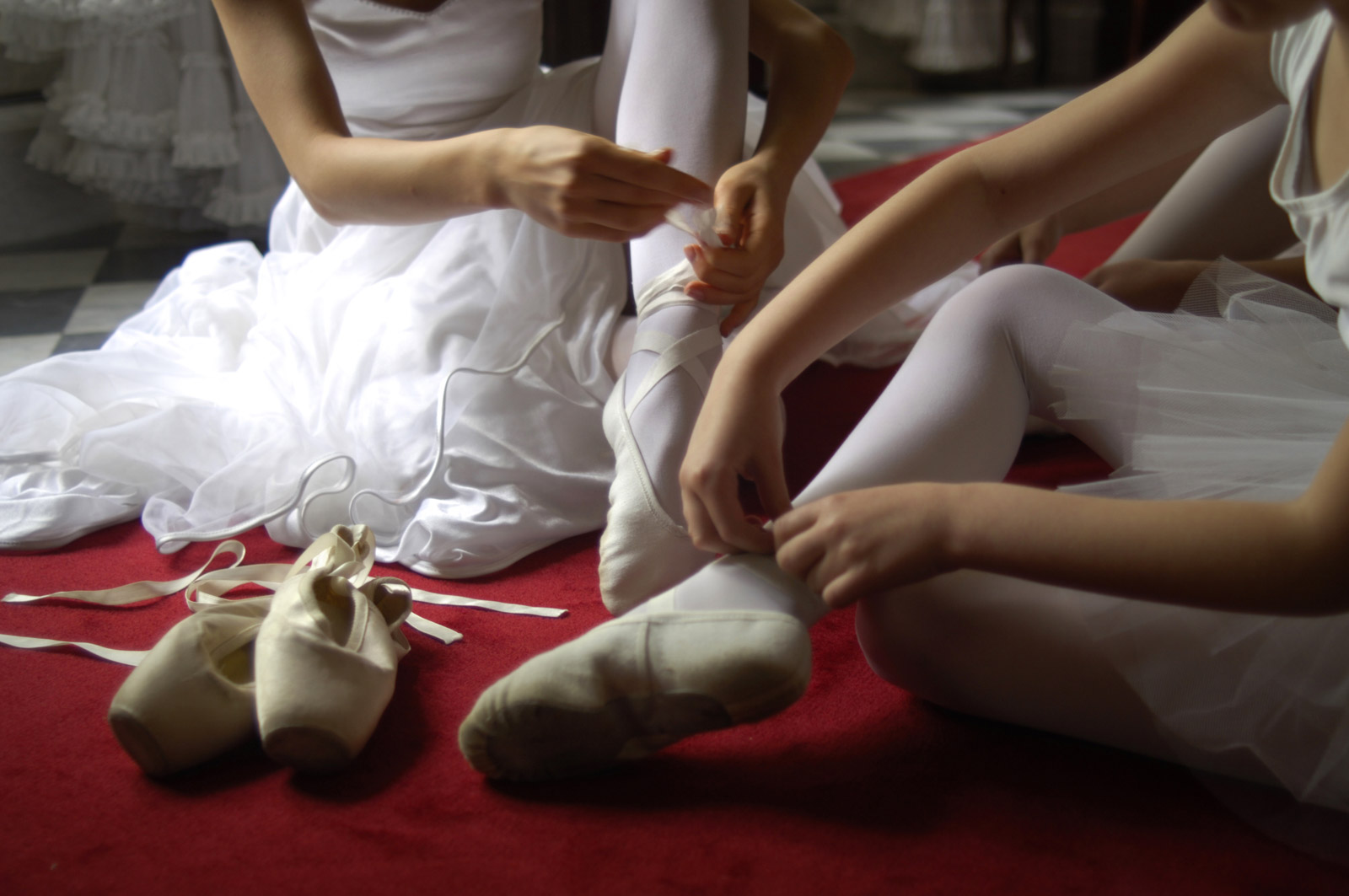 Ballet dancers from Lublin Ballet Association in Poland