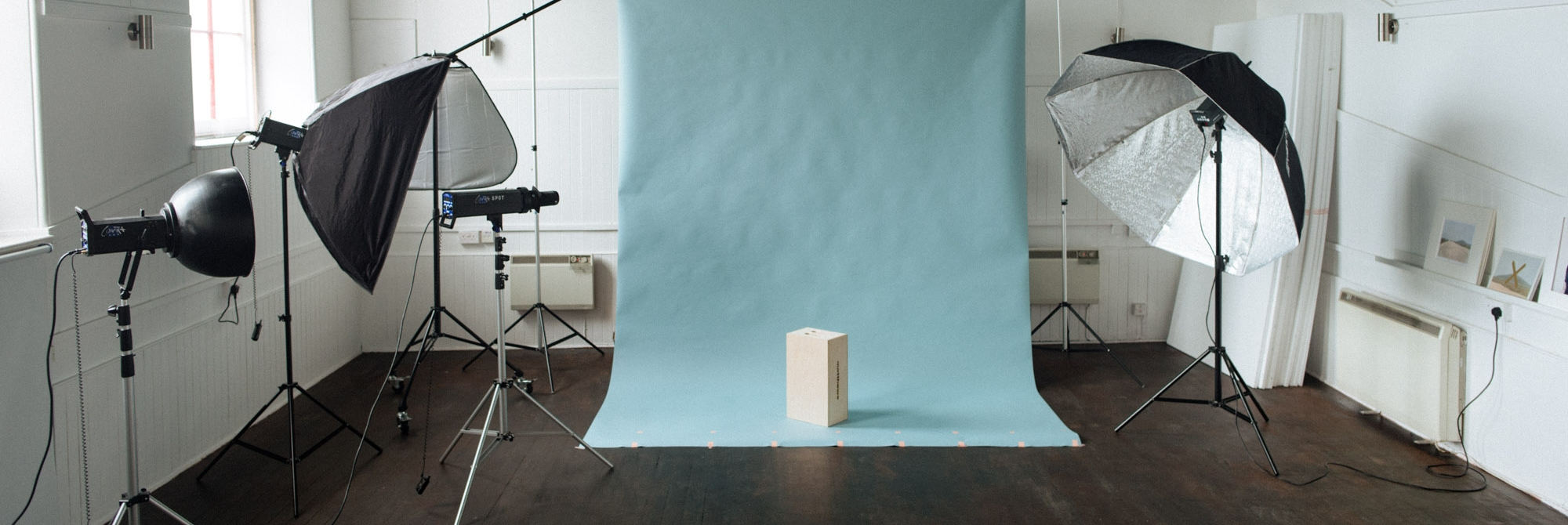 Courses are run based in our spacious fully equipped photography studio in central Edinburgh