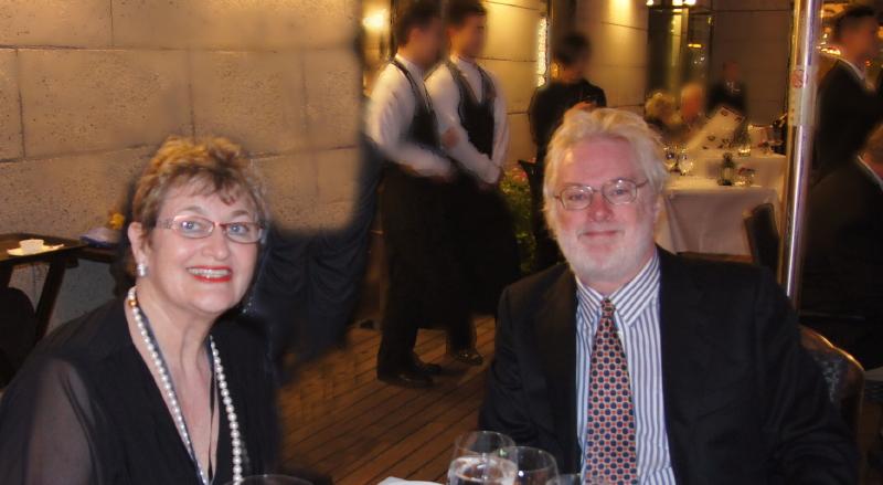 Christine &DavidCullen