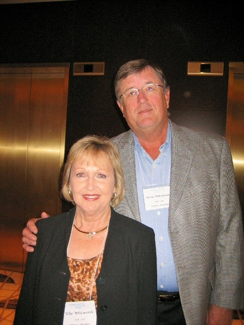 Steve and Ellie Whitworth