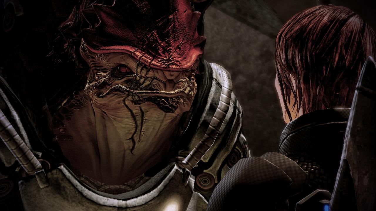 Wrex and Shepard