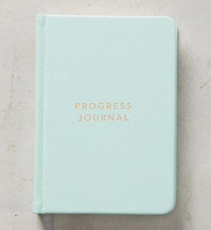 Progress Journal, Anthropologie, $15