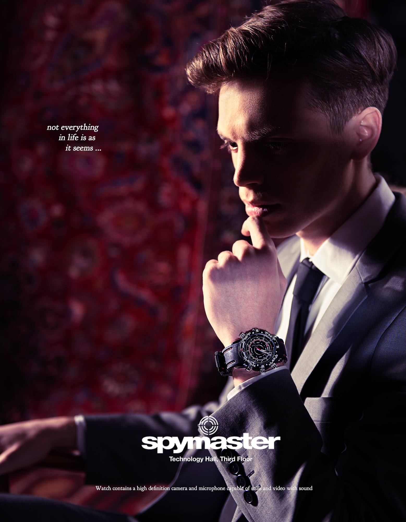 Spymaster Ad Campaign