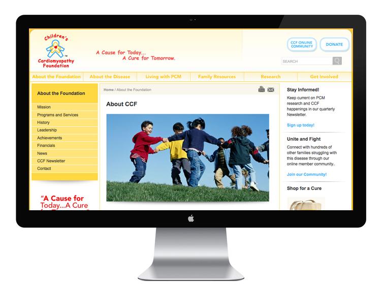 Website, Interior Page