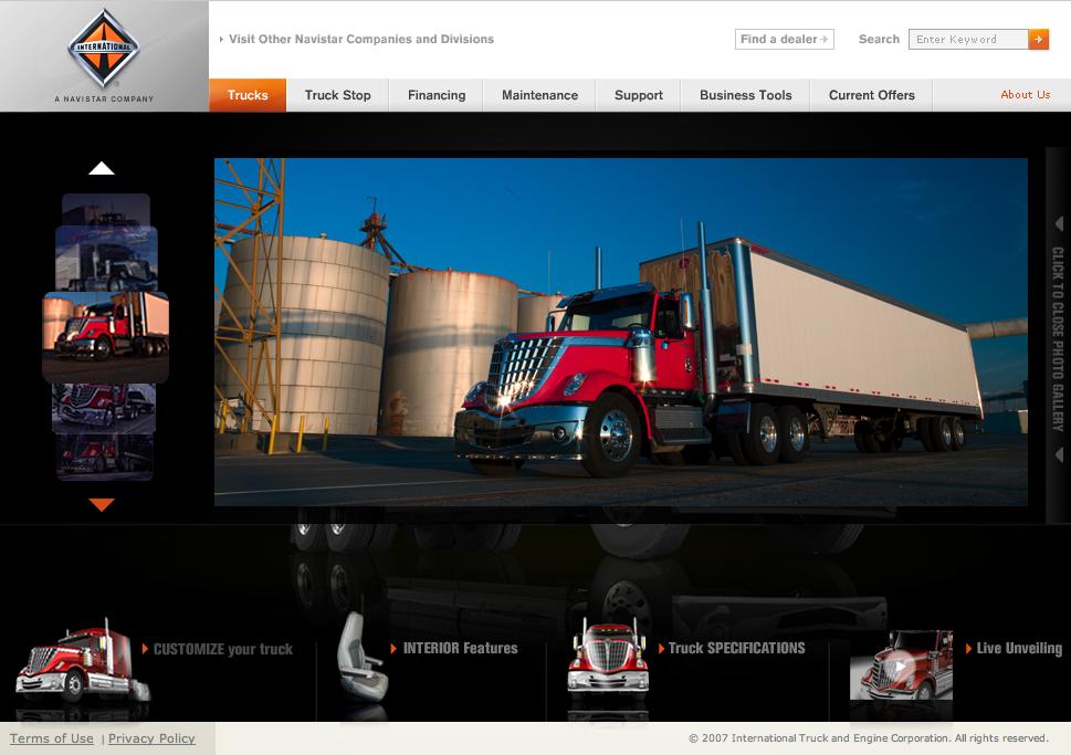 Website, Photo Gallery Detail