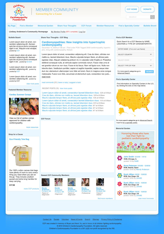 Social Community Site