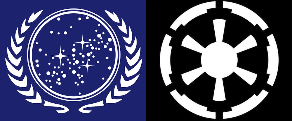 Federation vs. Empire.